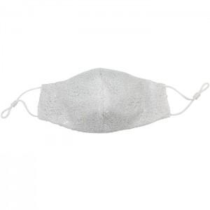Sequin Face Mask w/ Filter Pocket
