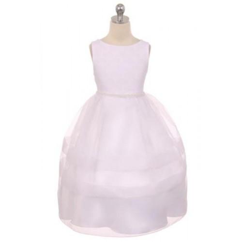 Fan Shape Design Communion Dress