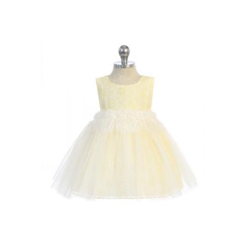 Lace Heart Baby Dress