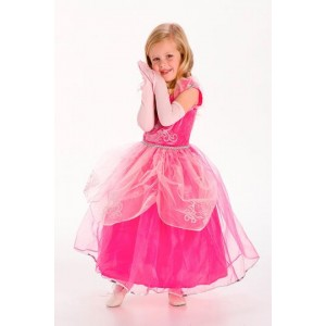 Pink Princess Gloves